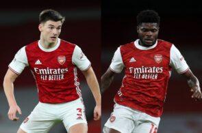 Kieran Tierney, Thoms Partey - Arsenal