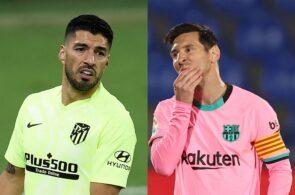 Luis Suarez - Atletico Madrid, Lionel Messi - FC Barcelona