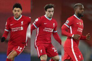 Oxlade-Chamberlain, Shaqiri, Origi - Liverpool