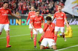 Benfica v Eintracht Frankfurt - UEFA Europa League Quarter Final : First Leg