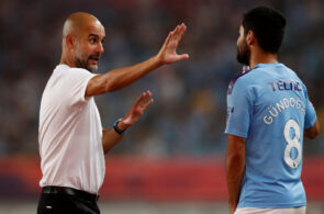 Gundogan, Guardiola