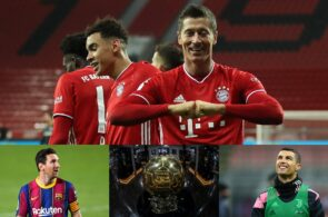 Robert Lewandowski, Ballon d'Or