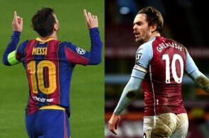 Lionel Messi, Jack Grealish