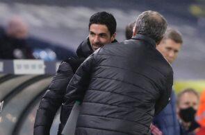 Marcelo Bielsa, Mikel Arteta, Leeds, Arsenal