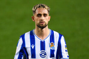 Adnan Januzaj of Real Sociedad