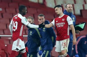 Nicolas Pepe, Gabriel Martinelli, Arsenal