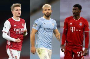Saturday's transfer rumors - Man City name Aguero replacement