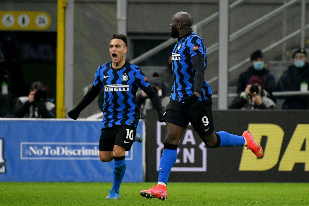 Lautaro Martinez, Romelu Lukaku, Inter