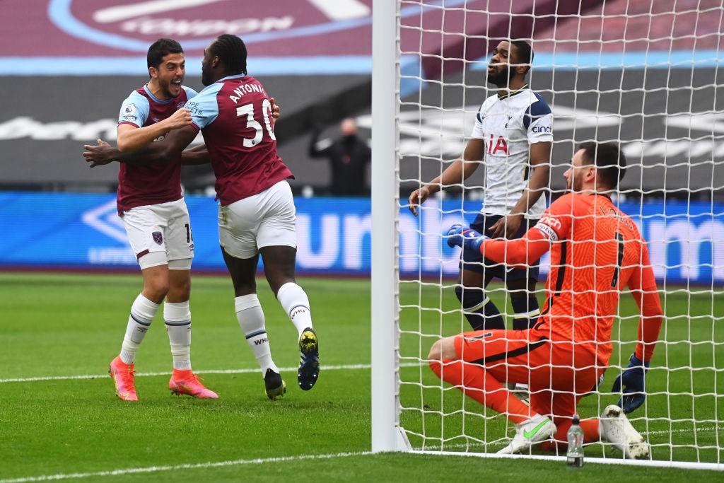 West Ham 2-1 Tottenham: Premier League Player ratings