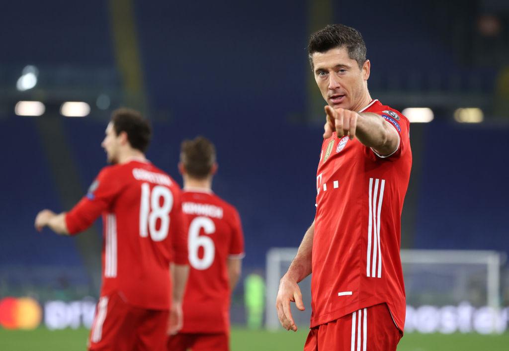 SS Lazio v Bayern Muenchen - UEFA Champions League Round Of 16 Leg One