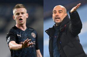 Oleksandr Zinchenko & Pep Guardiola - Manchester City