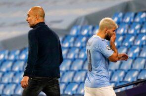 Pep Guardiola & Sergio Aguero - Manchester City