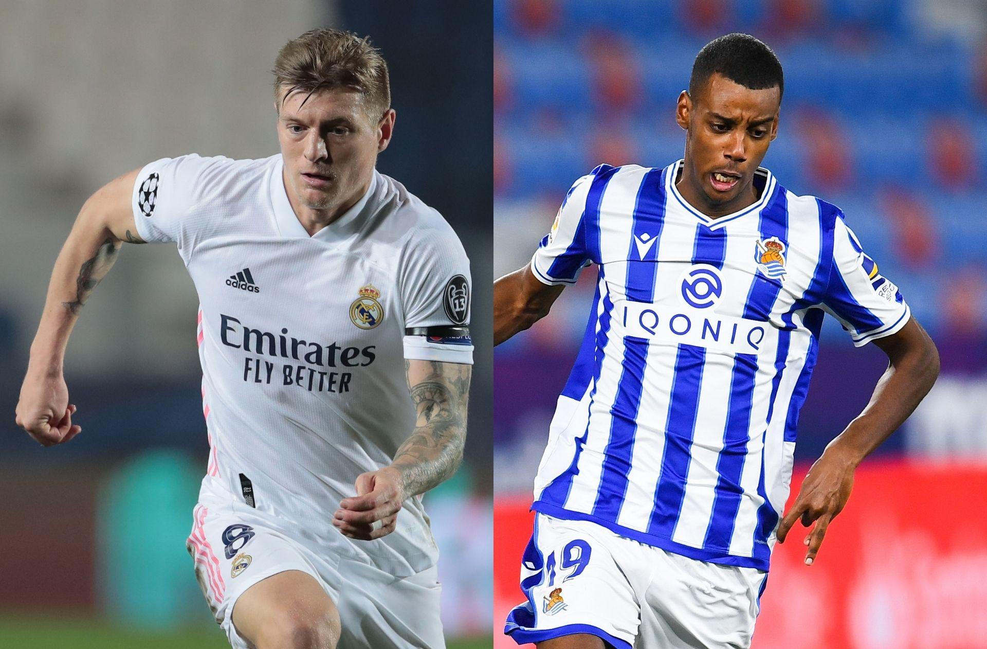 Real Madrid vs Real Sociedad: La Liga