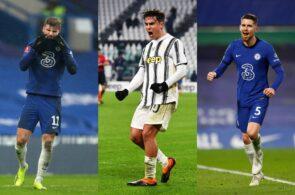 Werner, Dybala, Jorginho