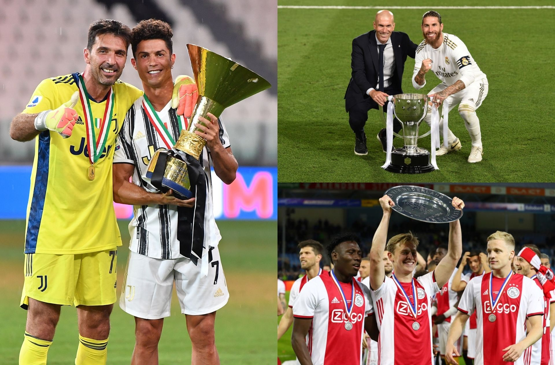 The 10 clubs with the most league titles in European football