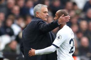Lucas Moura & Jose Mourinho - Tottenham