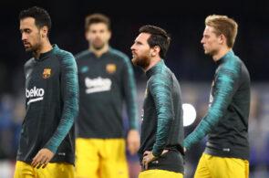 Lionel Messi, Frenkie de Jong, FC Barcelona