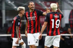 Zlatan Ibrahimovic, Theo Hernandez, AC Milan