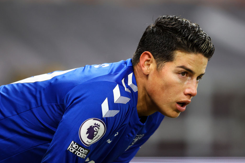 James Rodriguez - Everton
