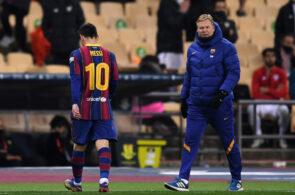 Messi, Koeman