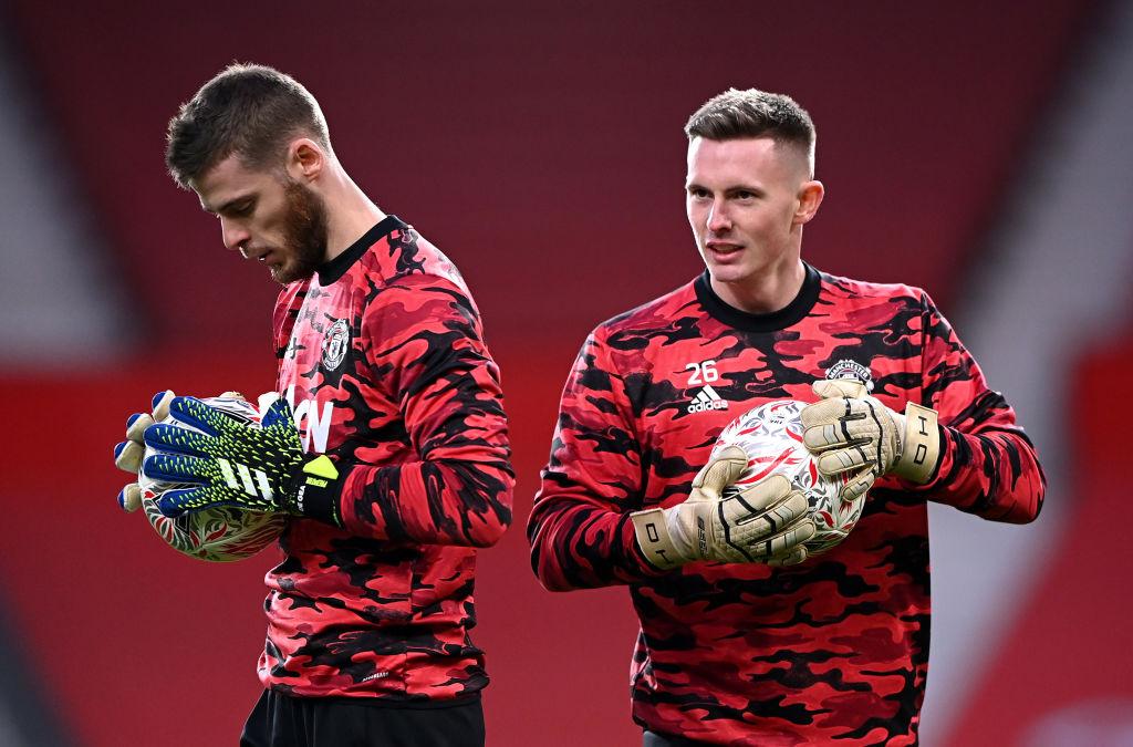 David De Gea & Dean Hendeson - Manchester United