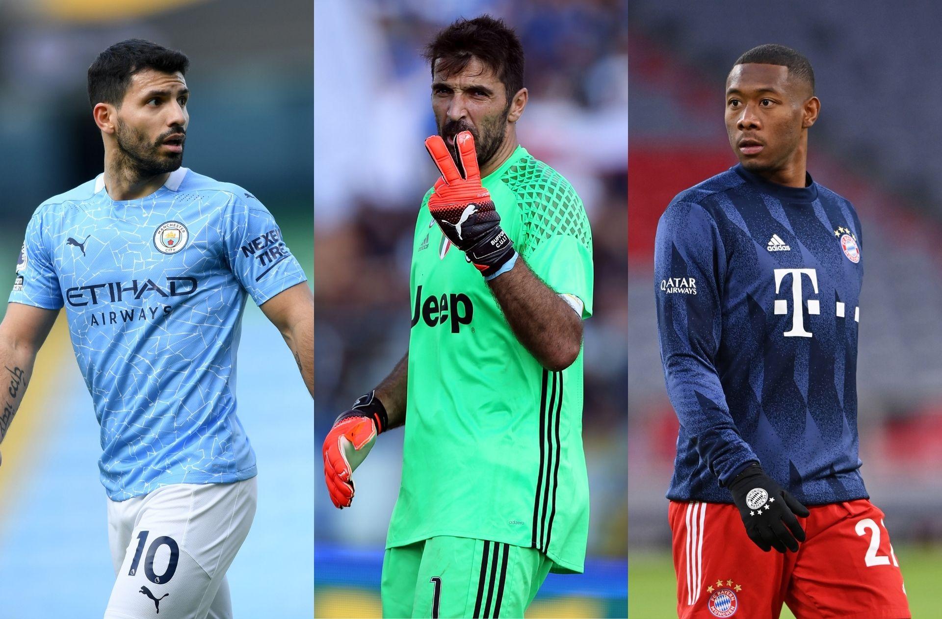 Sergio Aguero, Gianluigi Buffon, David Alaba, transfer