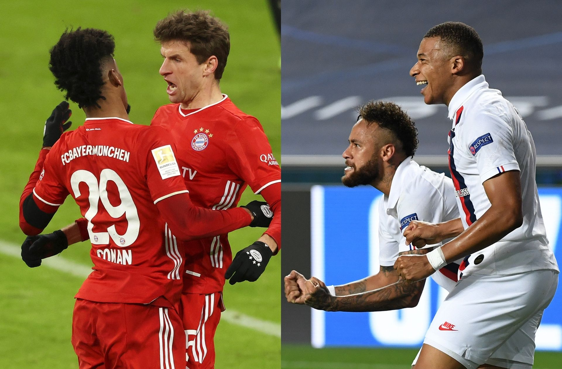 Bayern Munich vs Paris Saint-Germain - Champions League