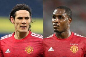 Edinson Cavani, Odion Ighalo - Manchester United