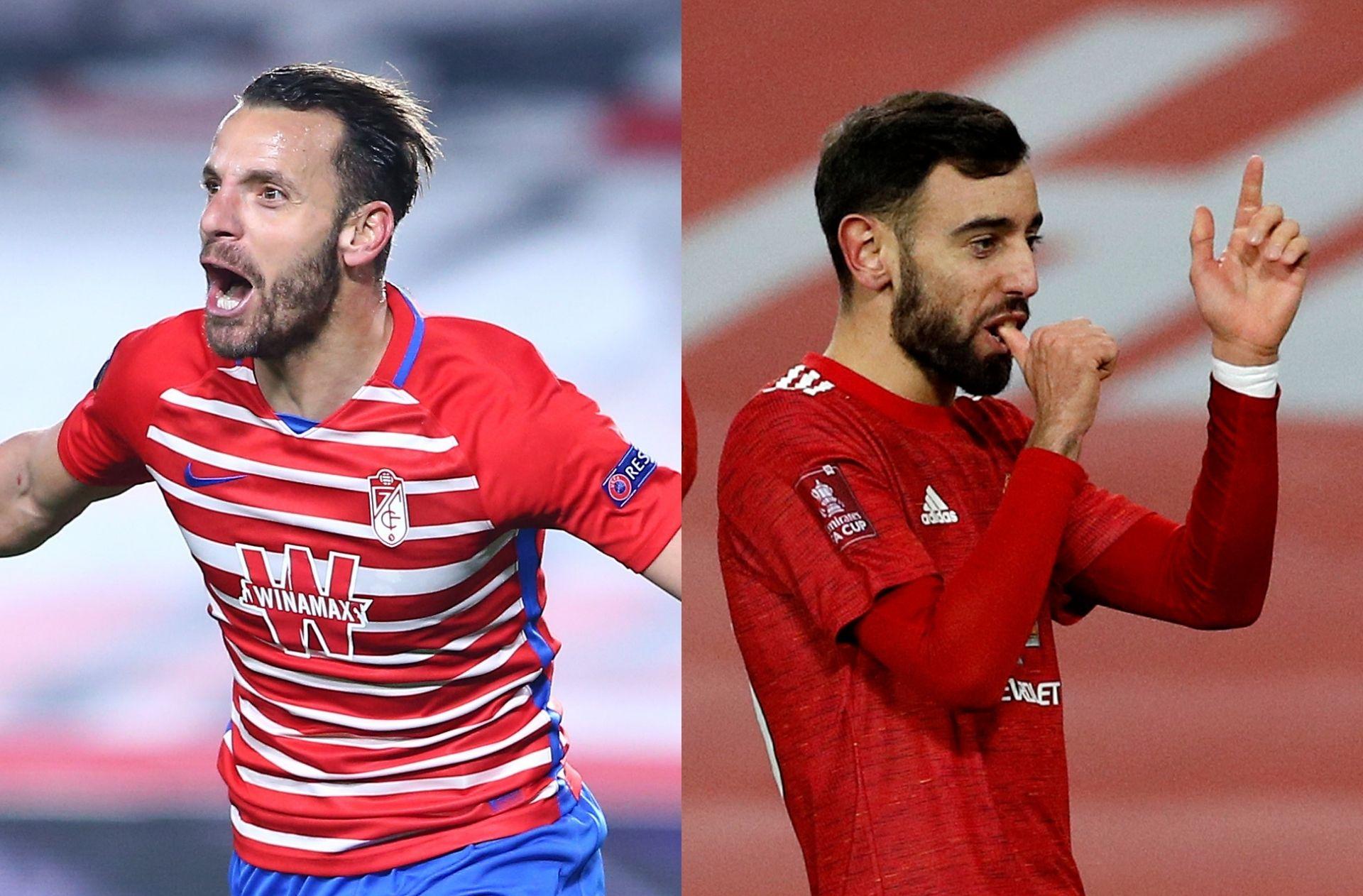 Granada vs Manchester United - Europa League