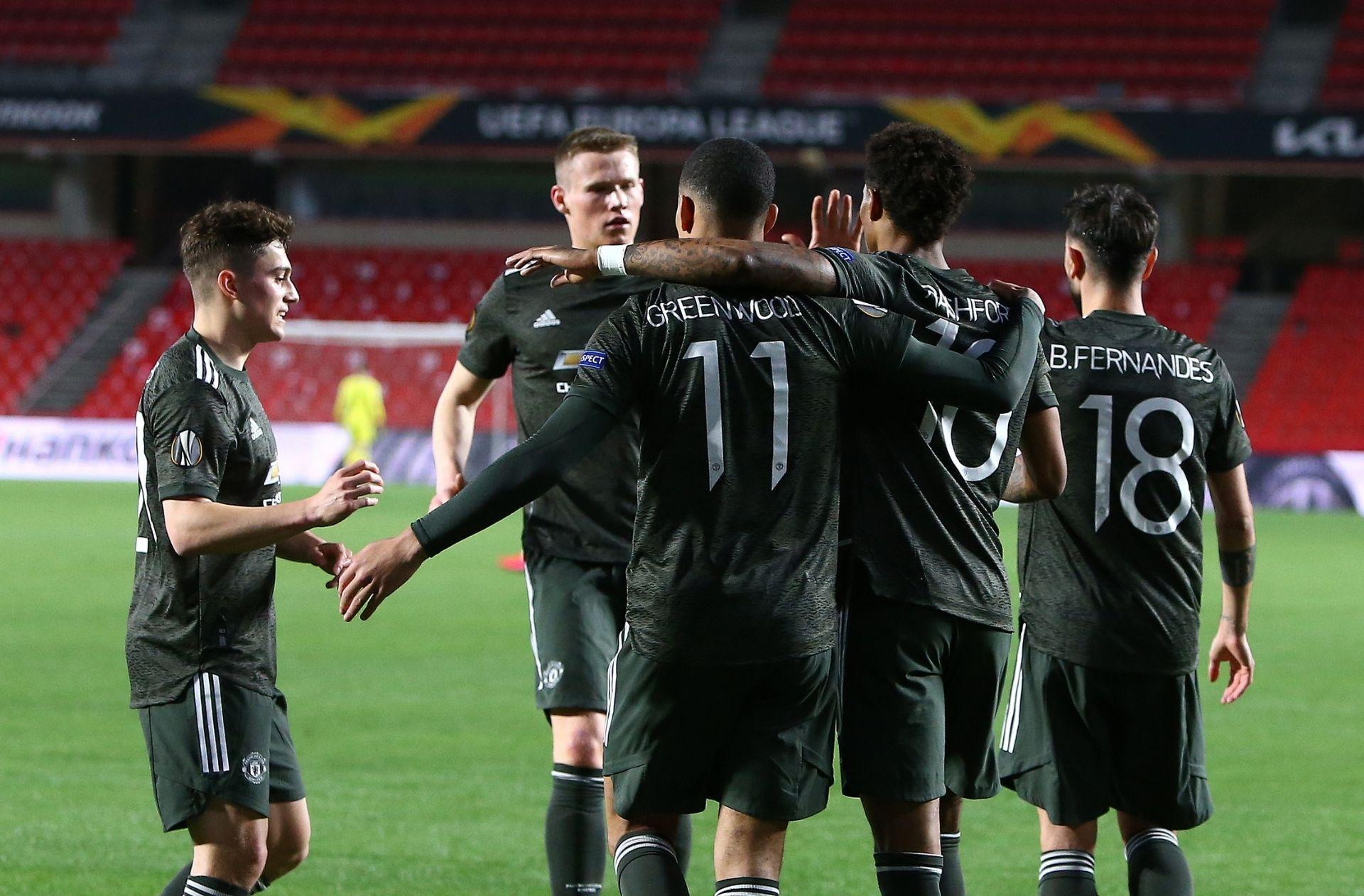 Manchester United vs Granada - Europa League