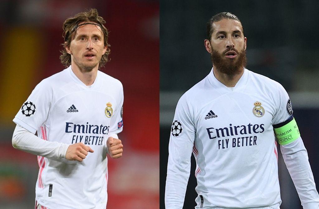 Luka Modric, Sergio Ramos - Real Madrid