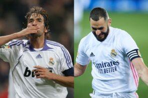 Raul Gonzalez, Karim Benzema - Real Madrid