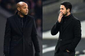 Thierry Henry, Mikel Arteta, Arsenal
