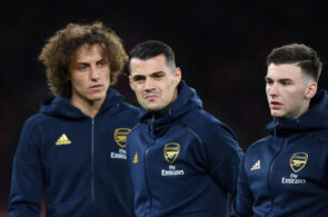 Kieran Tierney, David Luiz, Arsenal