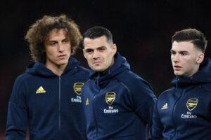 Kieran Tierney, David Luiz, Arsenal
