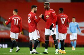 Paul Pogba, Bruno Fernandes, Manchester United