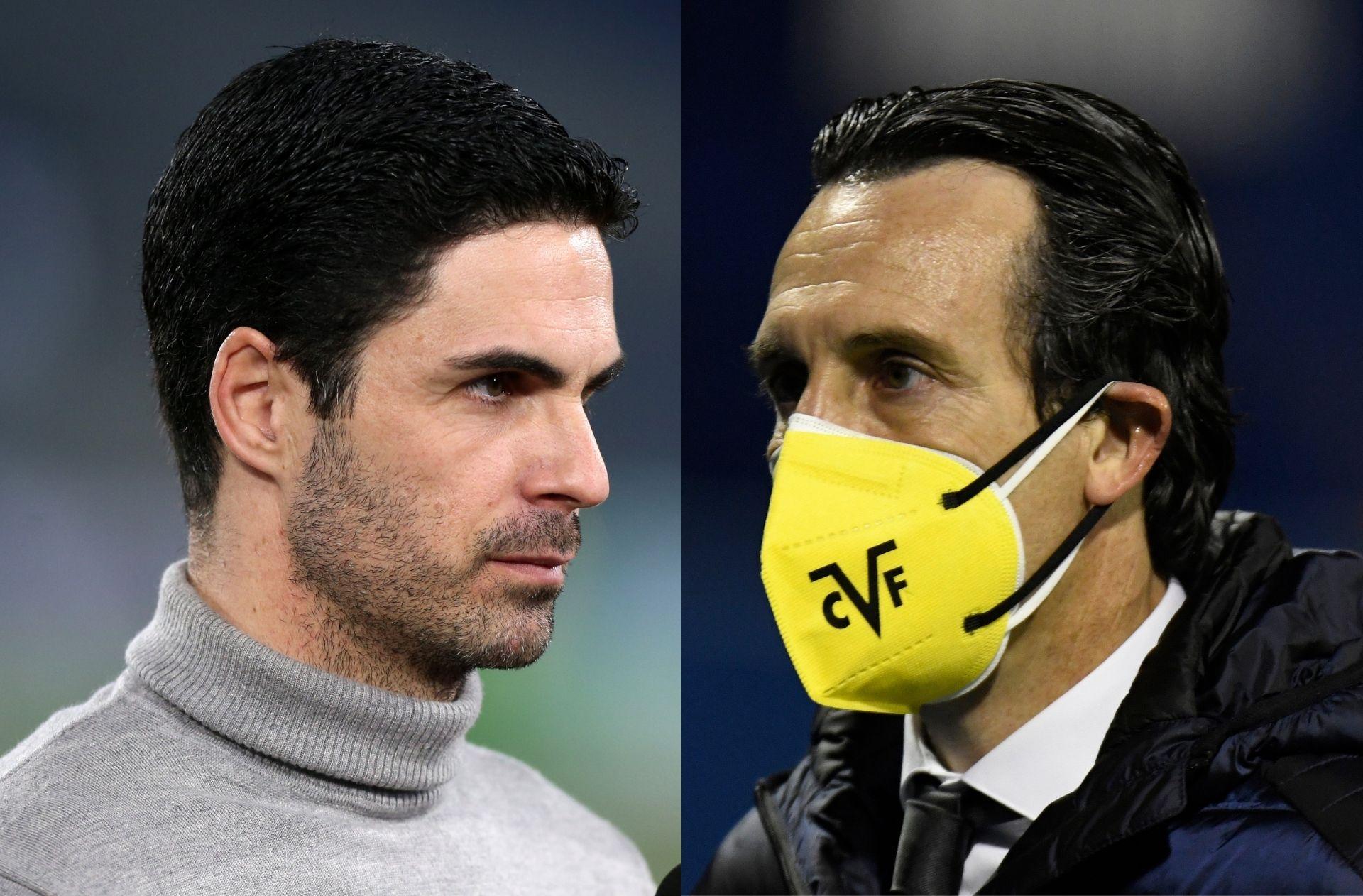 Mikel Arteta, Unai Emery, Arsenal