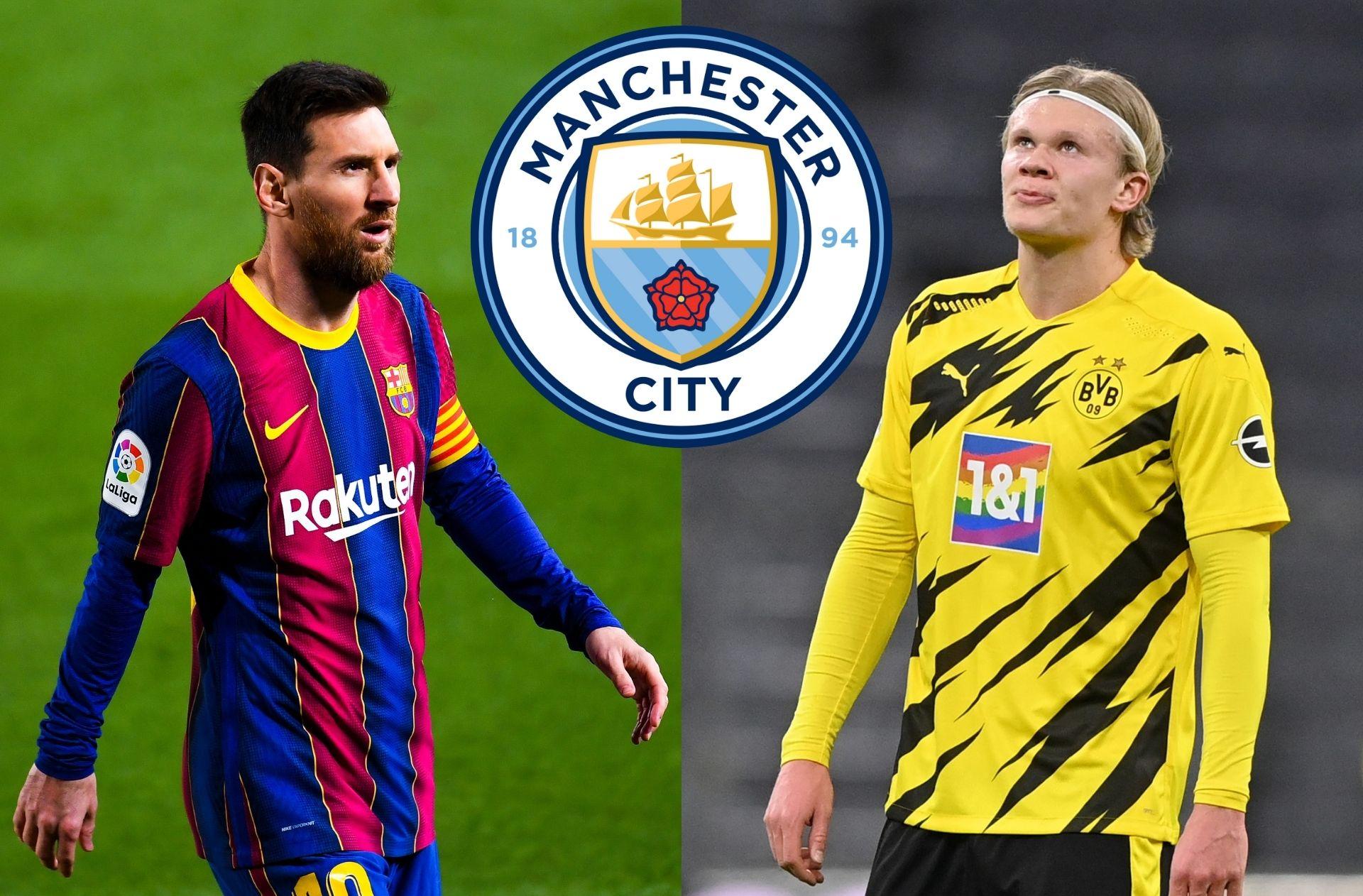 Sunday's transfer rumors - Man City choose between Messi & Haaland