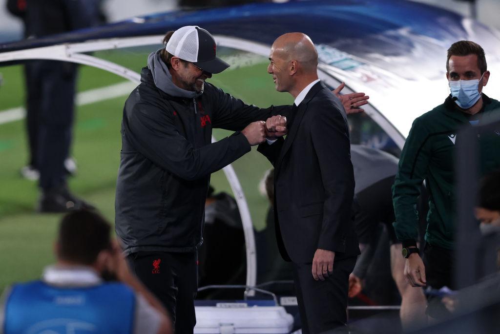 Zidane, Klopp