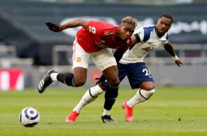 Paul Pogba & Serge Aurier - Manchester United vs Tottenham
