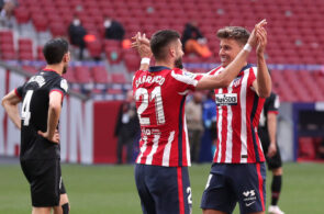 Atletico Madrid vs Eibar: La Liga