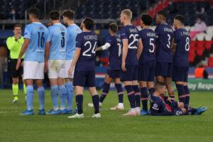 PSG vs Man City - Champions League semi-final
