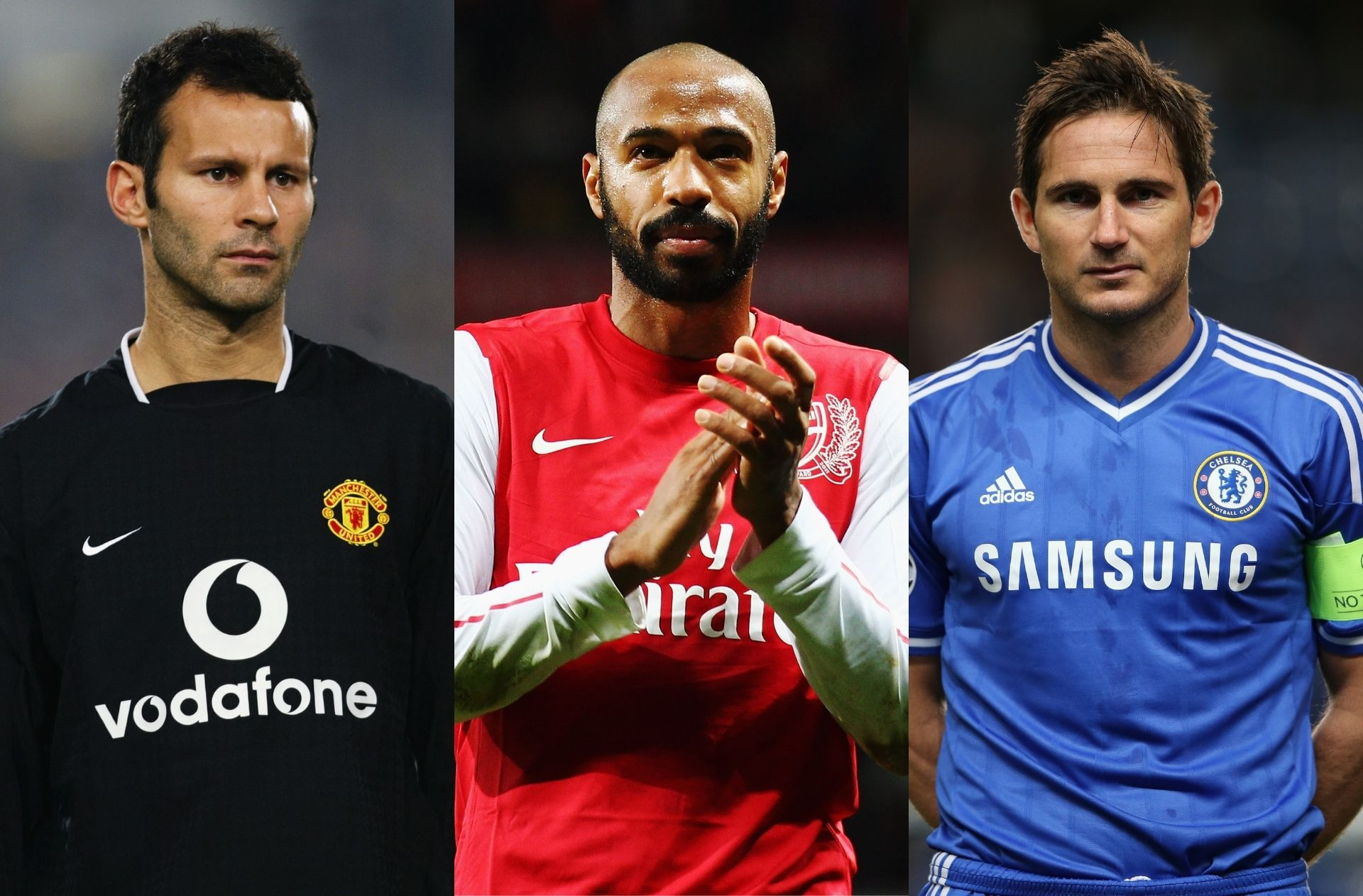 Top 10 legends for the Premier League Hall of Fame