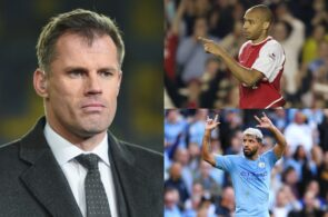 Jamie Carragher, Thierry Henry, Sergio Aguero, Premier League