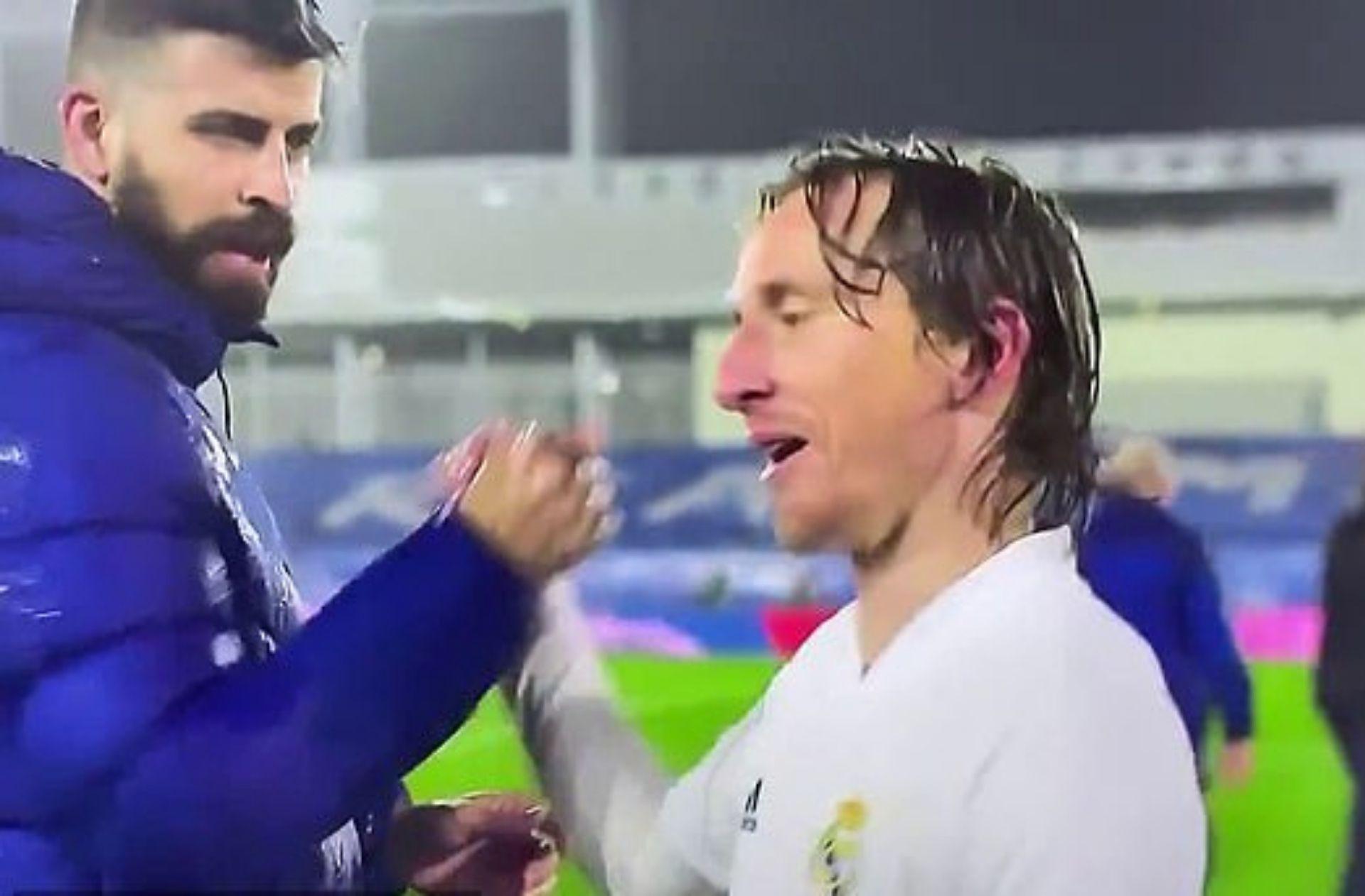 Luka Modric, Gerard Pique