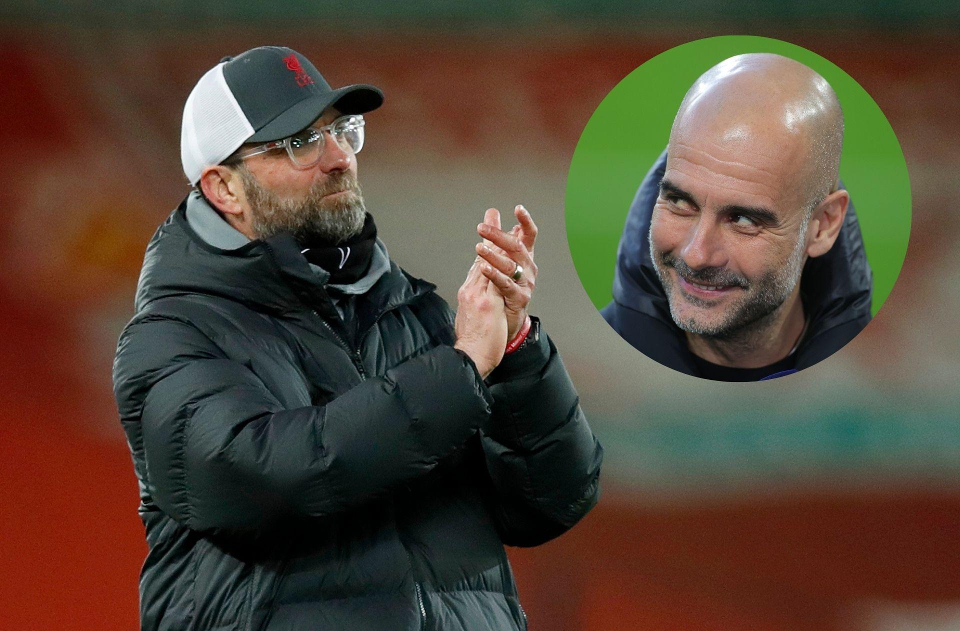 Jurgen Klopp - Liverpool, Pep Guardiola - Man City