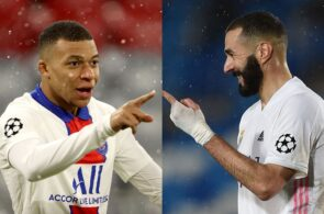 Mbappe - PSG, Benzema - Real Madrid