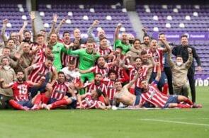 Atletico Madrid are crowned 2020/21 La Liga champions