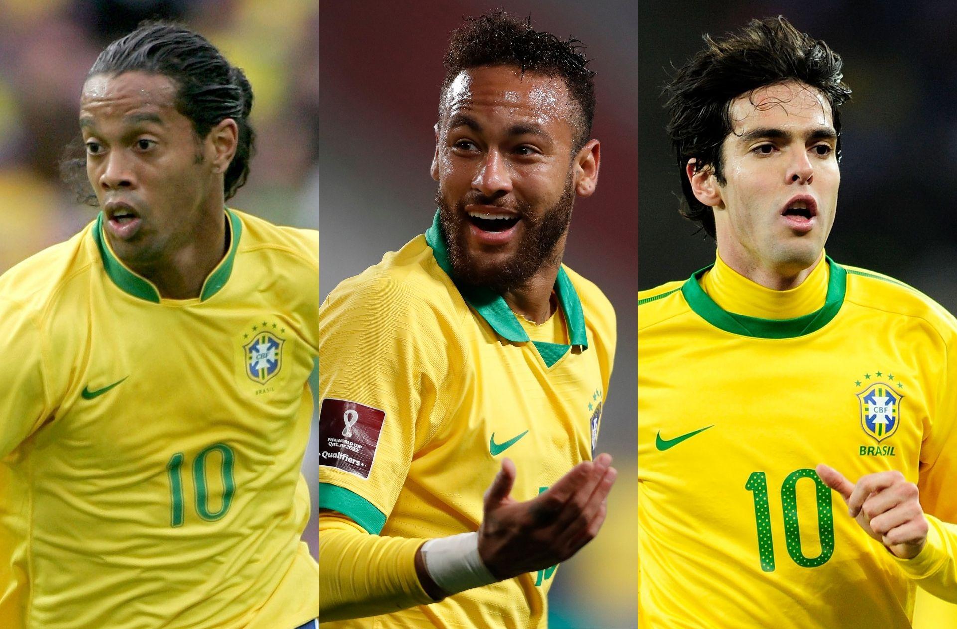 Ronaldinho, Neymar, Kaka - Brazil