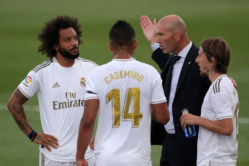 Marcelo, Zidane